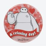 TDR BAYMAX TIN BADGE