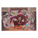 DSJ Mickey 90th Artist Goods Mickey and Friends Figure Postcard
