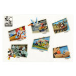 DSJ Mickey 90th Artist Goods Mickey and Friends Figure Sticker