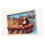 DSJ Mickey 90th Artist Goods Boat Builders Postcard