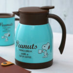 PNT Coffee Time Snoopy Stainless Pot
