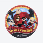 TDR Mr. Incredibles We are A Family Tin Badge