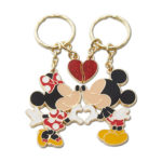 TDR Mickey and Minnie Love pair Keychain