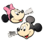 DSJ Disney School Mickey Mouse and Minnie Mouse Hair Clip
