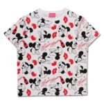 TDR Minnie Mouse Black x Red T-Shirts (M/L) for Women