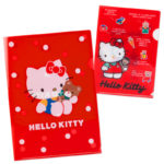 SRO Hello Kitty 45th CLEAR FOLDER SET 80s teddy bear