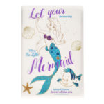 DSJ Sea mosaic Ariel and Flounder Letter Set with Clear file