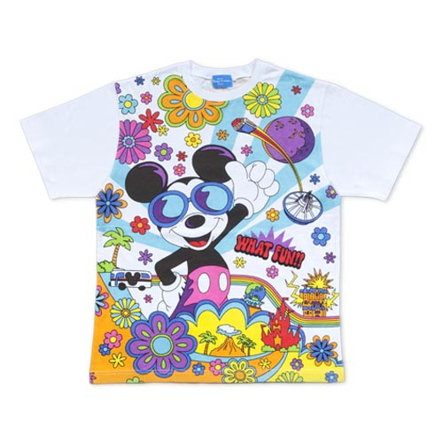 a1e91c09 TDR WHAT FUN Mickey Mouse T-Shirts Japanese Adult Unisex 3L – Tokyo D-Merch