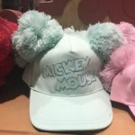 TDR Mickey Mouse Pom Pom Hat Cap light green