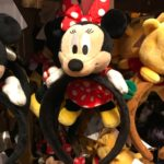 TDR Minnie Mouse plush headband