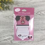 TDR Minnie Mouse Ear Hat Shaped Memo Pad