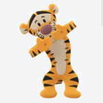 TDR Pooh and Friends Character Tigger multi holders