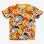 TDR all over patterned t-shirts Winnie the Pooh Japanese Adult Unisex LL