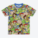 TDR all over patterned t-shirt Toy Story Japanese Adult Unisex S/M/L