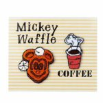 TDR Park Food Stationery Waffle Stickers