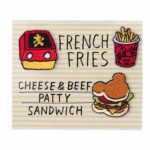 TDR Park Food Stationery French Fries Stickers