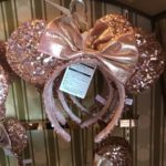 TDR Minnie Mouse ears Rose Gold Headband