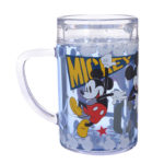 DSJ Mickey Mouse and Pluto Plastic Cup COOL