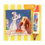 DSJ Lady and Tramp Color Pen and Memo (scented)