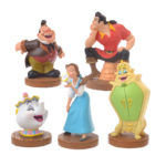 DSJ Figure Set  Belle & Chip, Mrs. Pot, Wardrobe, Gaston, Le Fu good laugh