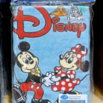 TDR Team Disney Long Face Towel Blue