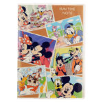 DSJ Mickey and Friends Hobby Notebook (Fun Time Notebook)