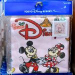 TDR Team Disney Wash Towel Pink