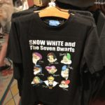 TDR Snow White and the Seven Dwarfs illustration T-Shirts Adult Unisex