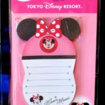 TDR Stationery Minnie Mouse Ears Hat Memo Pad