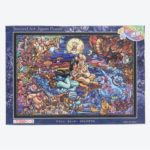 TDR Aladdin Stained Glass Design Jigsaw Puzzle