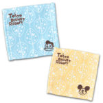 TDR Handwriting Design Mickey and Donald Coaster Set