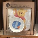 DSJ Tableware Winnie the Pooh Melamine Brunch Plate and Bowl set watercolor