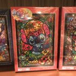 TDR Stitch Stained Glass Design Jigsaw Puzzle