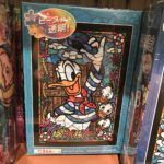 TDR Donald Duck Stained Glass Design Jigsaw Puzzle
