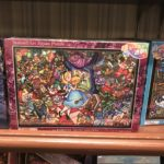 TDR Alice in Wonderland Stained Glass Design Jigsaw Puzzle