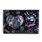 SRO Kuromi Neon parlor Stickers with case