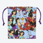 TDR All Over Patterned Aladdin Drawstrings Pouch