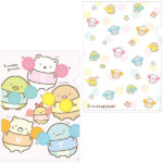 SAX Sumikko Gurashi Rooting For You Clear Folder Set  (Cheerleader)