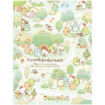 SAX Sumikko Gurashi Tokage's House 10 Pockets Clear Folder (Forest)