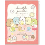 SAX Sumikko Gurashi 6+1 Pockets Clear Folder  (Shirokuma's Handmade Plush Doll Sewing)
