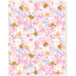SAX Rilakkuma 6+1 Pockets Clear Folder (Watercolor)