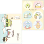 SAX Sumikko Gurashi Rooting For You Clear Folder Set  (Study)