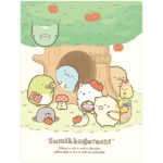 SAX Sumikko Gurashi Tokage's House 10 Pockets Clear Folder (House)