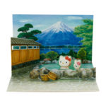 SRO Hot Spring Hello Kitty Japanese Style Card
