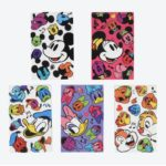 TDR Stationery Mickey Friends All Over Patterned Memo Pad set