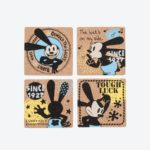 TDR Oswald THE LUCKY RABBIT Coaster set