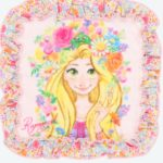 TDR Rapunzel Girly Mini Towel / Hand Towel 11.8inch square