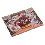 DSJ Mickey 90th Artist Goods Mickey and Friends Figure Memo Pad