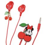 DSJ CHERRY Minnie Mouse Stereo earphones with mic