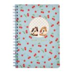 DSJ CHERRY Chip and Dale Ring Notebook
